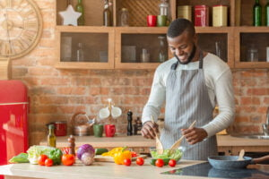 man-preparing-healthy-soul-food
