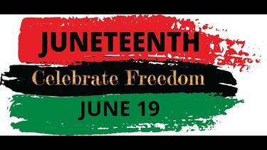 Celebrate Freedom - Juneteenth flyer