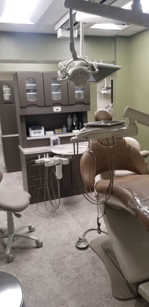 Oral care room